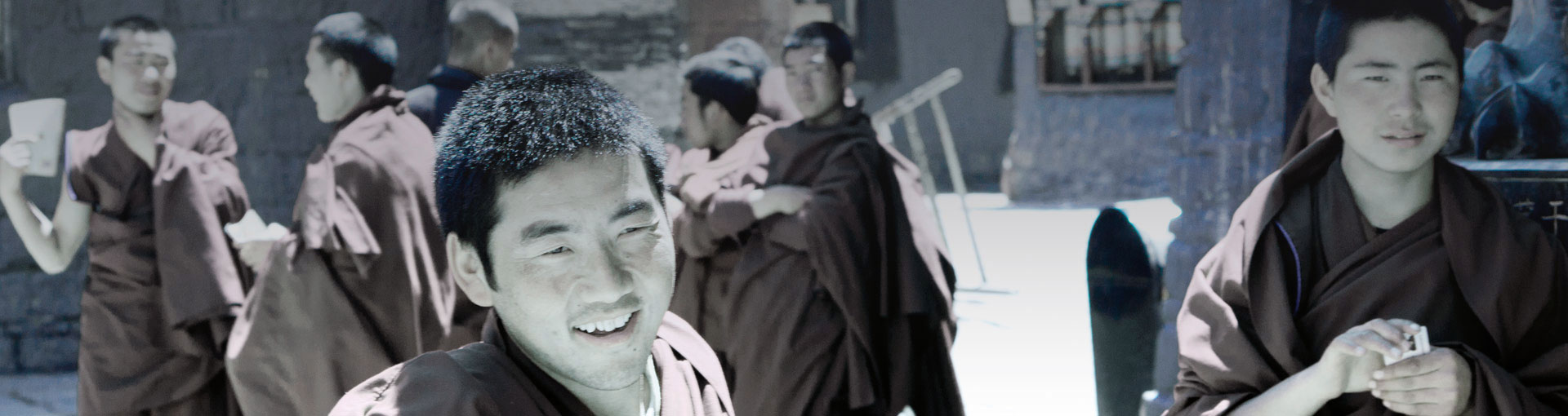 Tibet smile monk element film